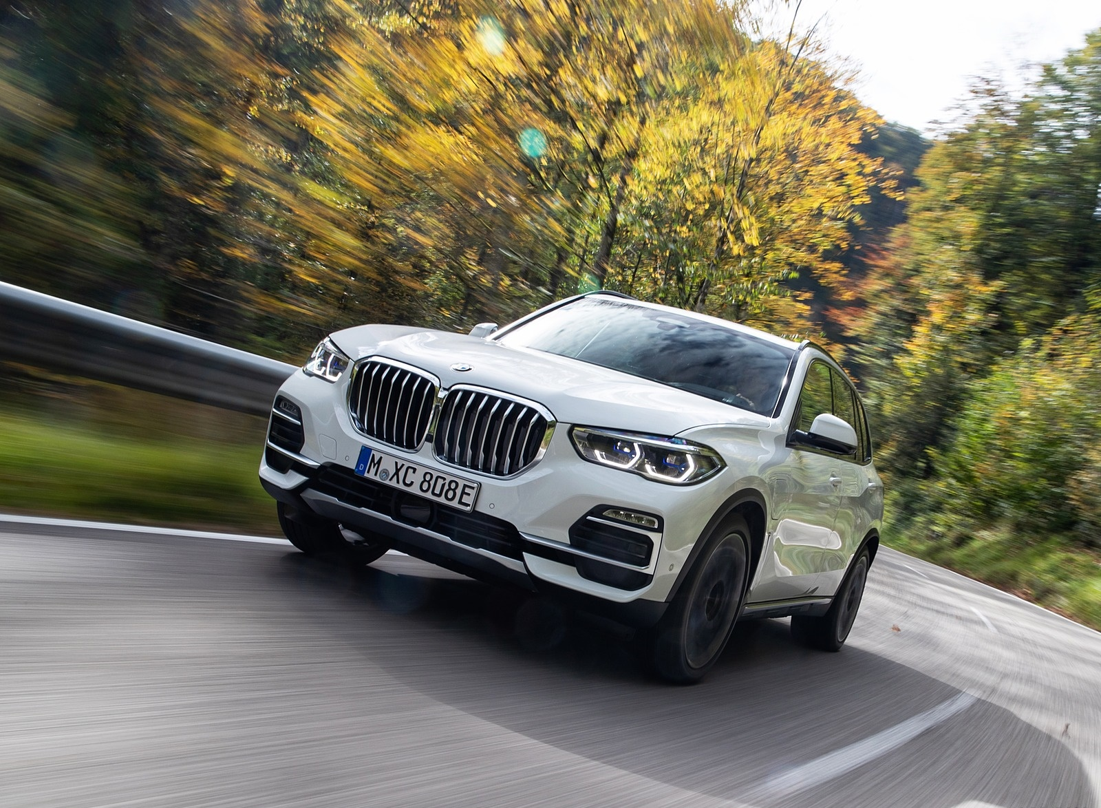 2019 BMW X5 xDrive45e iPerformance Front Three-Quarter Wallpapers (6)