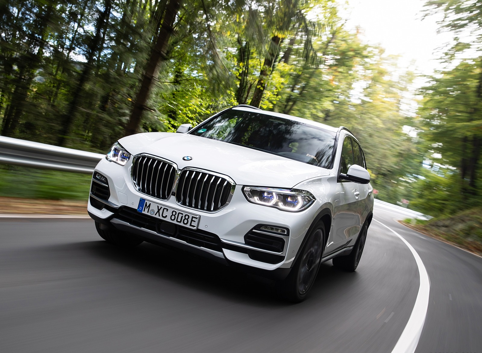 2019 BMW X5 xDrive45e iPerformance Front Three-Quarter Wallpapers (7)