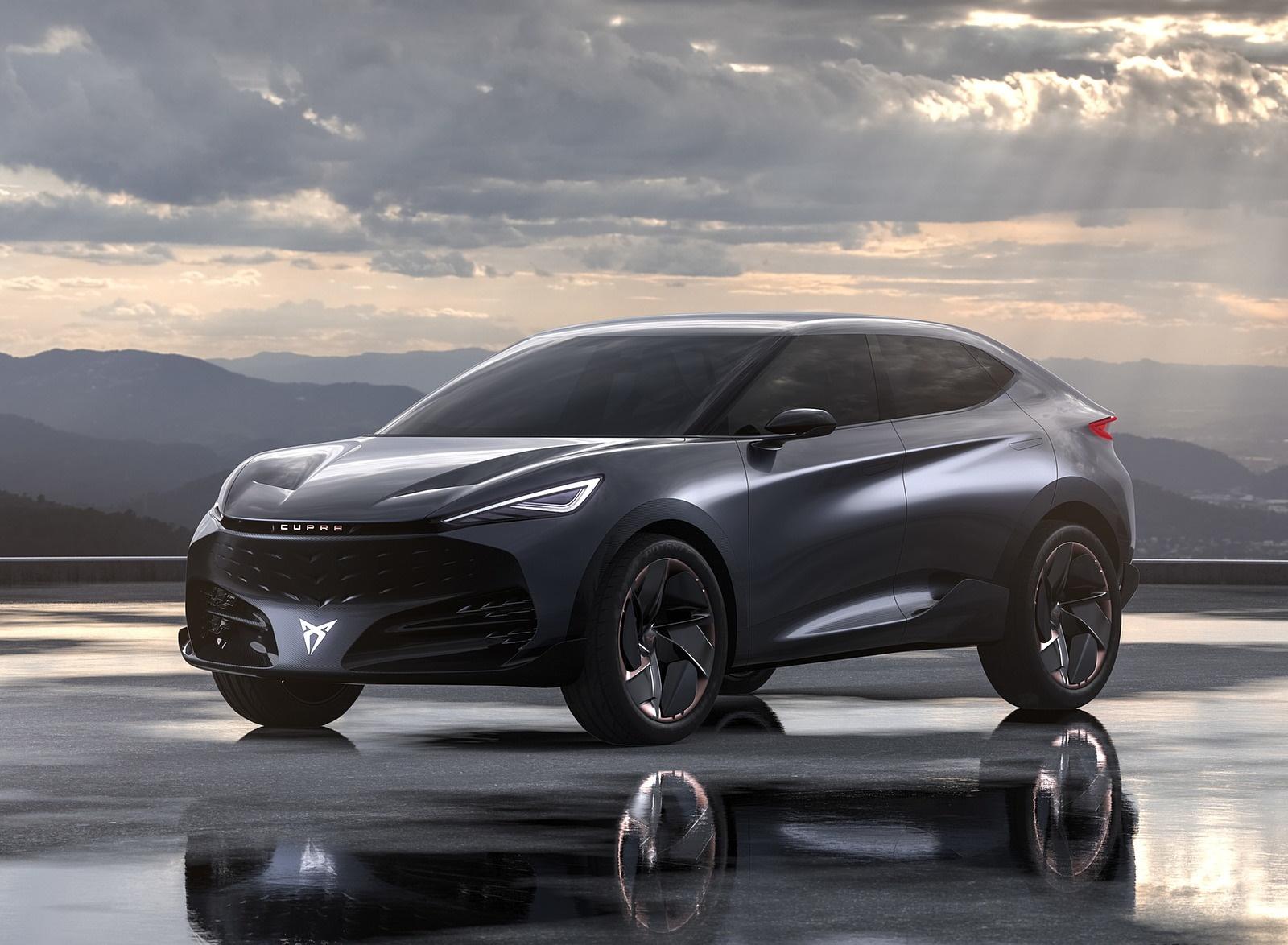 2019 CUPRA Tavascan EV Concept Front Three-Quarter Wallpapers (3)