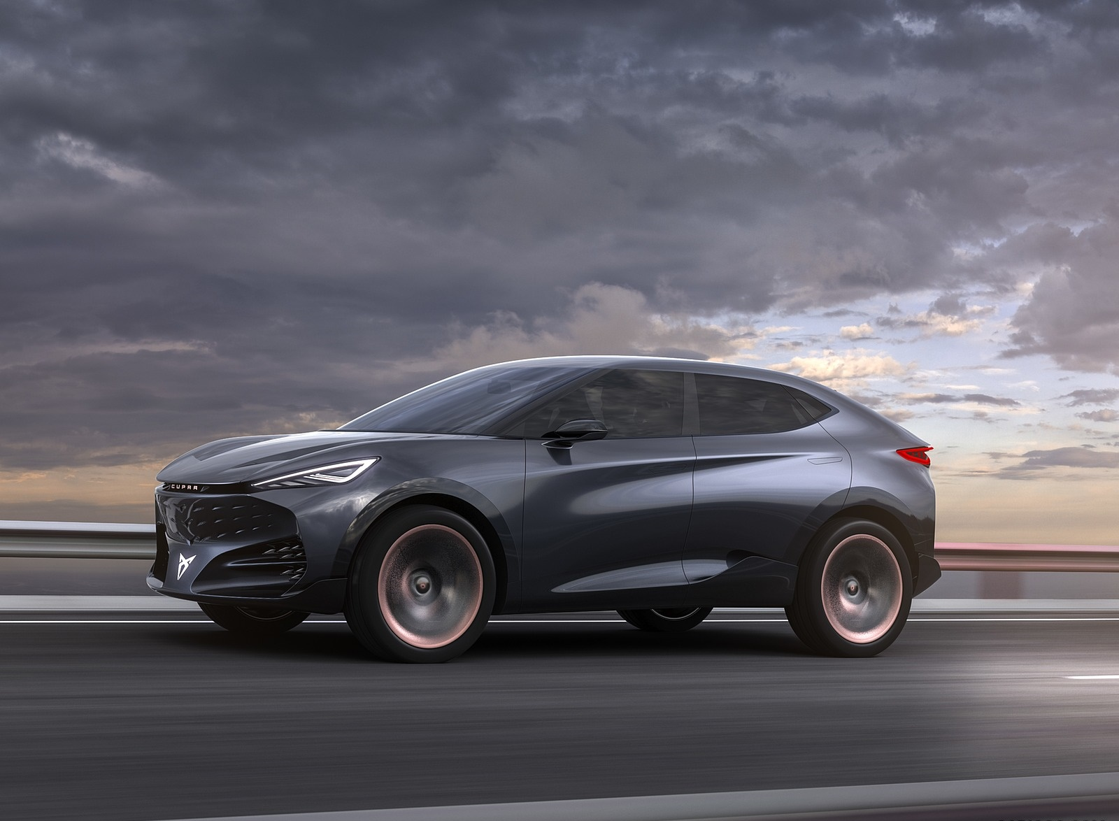 2019 CUPRA Tavascan EV Concept Front Three-Quarter Wallpapers (1)