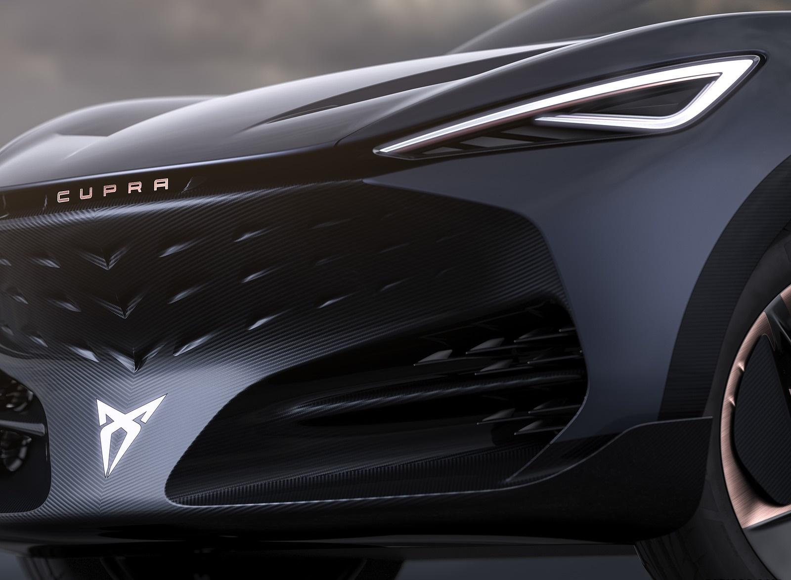 2019 CUPRA Tavascan EV Concept Headlight Wallpapers (10)