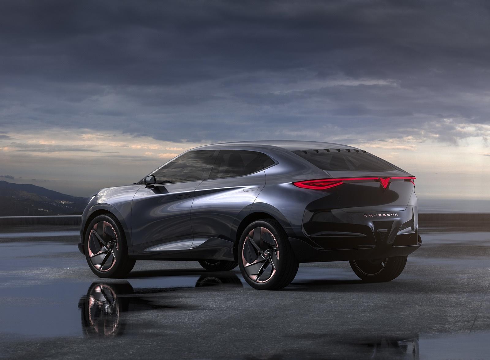 2019 CUPRA Tavascan EV Concept Rear Three-Quarter Wallpapers (6)