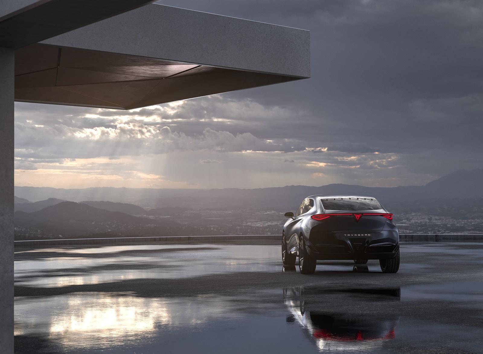 2019 CUPRA Tavascan EV Concept Rear Wallpapers (7)