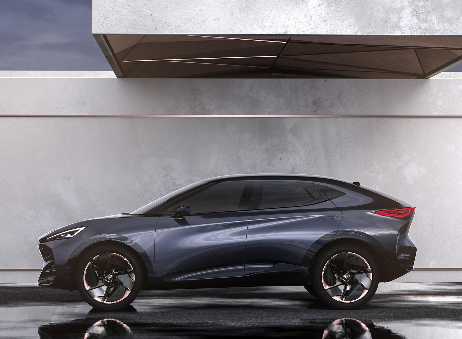 2019 CUPRA Tavascan EV Concept Side Wallpapers (8)