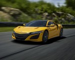 2020 Acura NSX (Color: Indy Yellow Pearl) Front Three-Quarter Wallpapers 150x120 (2)