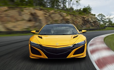 2020 Acura NSX (Color: Indy Yellow Pearl) Front Wallpapers 450x275 (3)