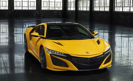 2020 Acura NSX (Color: Indy Yellow Pearl) Front Wallpapers 450x275 (10)