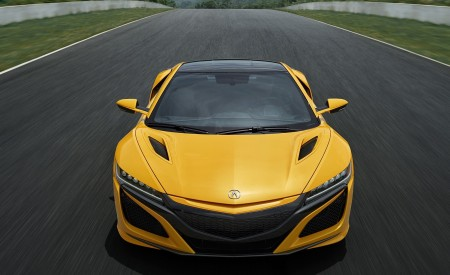 2020 Acura NSX (Color: Indy Yellow Pearl) Front Wallpapers 450x275 (4)