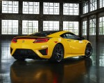 2020 Acura NSX (Color: Indy Yellow Pearl) Rear Three-Quarter Wallpapers 150x120 (11)