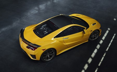 2020 Acura NSX (Color: Indy Yellow Pearl) Top Wallpapers 450x275 (13)