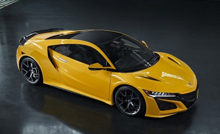2020 Acura NSX (Color: Indy Yellow Pearl) Top Wallpapers 450x275 (14)