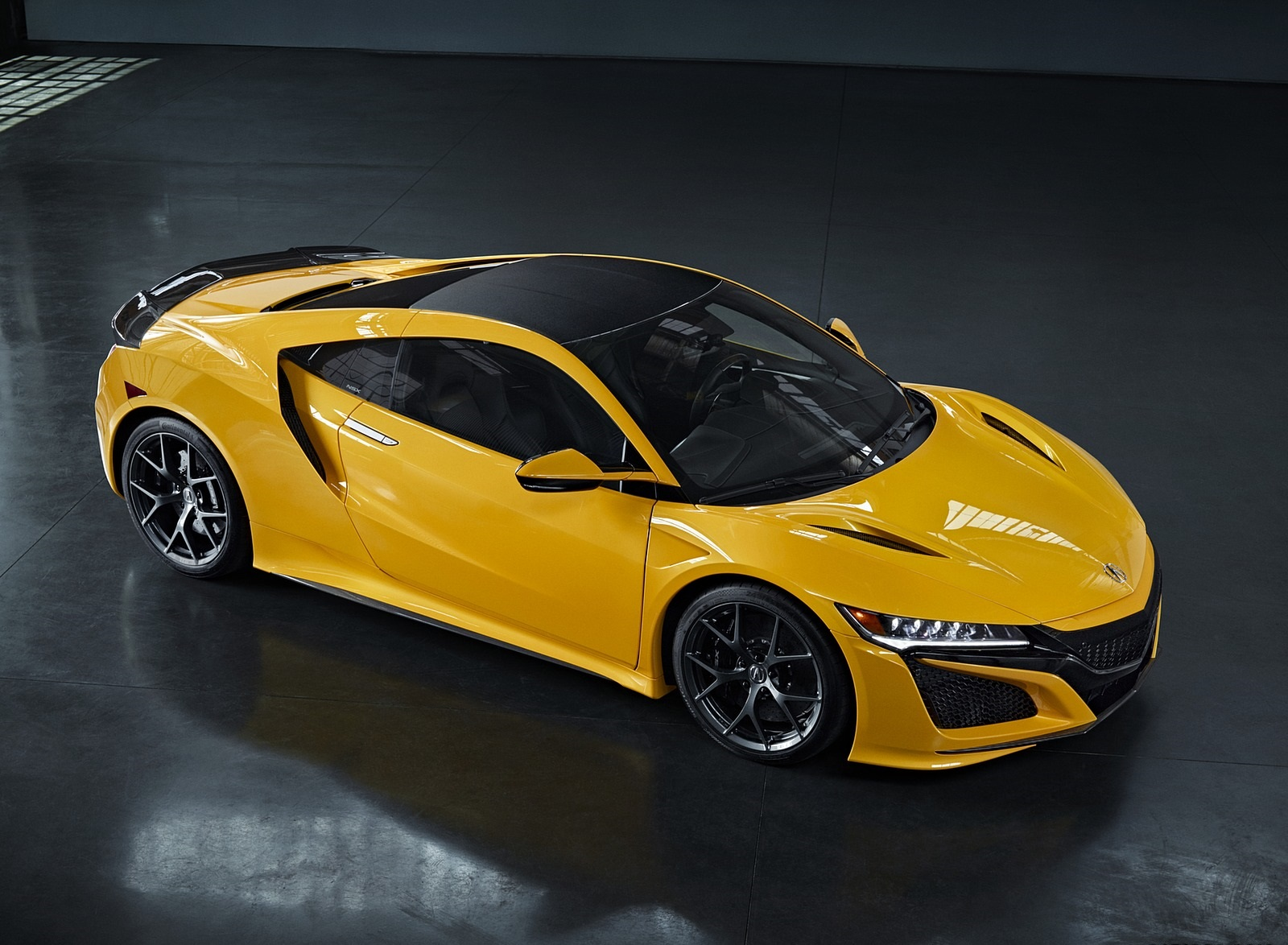 2020 Acura NSX (Color: Indy Yellow Pearl) Top Wallpapers (14)