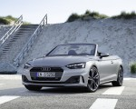 2020 Audi A5 Cabriolet (Color: Florett Silver) Front Three-Quarter Wallpapers 150x120 (7)