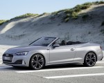 2020 Audi A5 Cabriolet (Color: Florett Silver) Front Three-Quarter Wallpapers 150x120 (8)