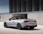 2020 Audi A5 Cabriolet (Color: Florett Silver) Rear Three-Quarter Wallpapers 150x120 (10)