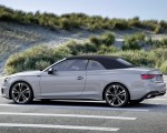 2020 Audi A5 Cabriolet (Color: Florett Silver) Side Wallpapers 150x120 (13)