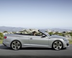 2020 Audi A5 Cabriolet (Color: Florett Silver) Side Wallpapers 150x120 (5)