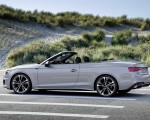 2020 Audi A5 Cabriolet (Color: Florett Silver) Side Wallpapers 150x120 (14)