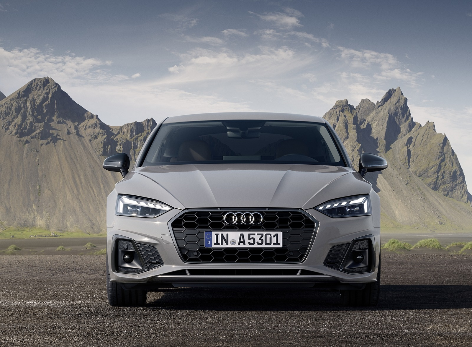 2020 Audi A5 Sportback (Color: Quantum Gray) Front Wallpapers (8)