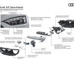 2020 Audi A5 Sportback Matrix LED headlight with Audi laser light Wallpapers 150x120 (22)