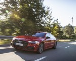2020 Audi A7 Sportback 55 TFSI e quattro Plug-In Hybrid (Color: Tango Red) Front Three-Quarter Wallpapers 150x120 (10)