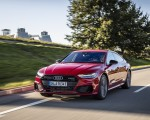 2020 Audi A7 Sportback 55 TFSI e quattro Plug-In Hybrid (Color: Tango Red) Front Three-Quarter Wallpapers 150x120 (11)