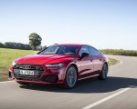 2020 Audi A7 Sportback 55 TFSI e quattro Plug-In Hybrid (Color: Tango Red) Front Three-Quarter Wallpapers 150x120 (2)
