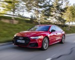2020 Audi A7 Sportback 55 TFSI e quattro Plug-In Hybrid (Color: Tango Red) Front Three-Quarter Wallpapers 150x120 (12)