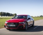 2020 Audi A7 Sportback 55 TFSI e quattro Plug-In Hybrid (Color: Tango Red) Front Three-Quarter Wallpapers 150x120 (3)