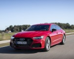 2020 Audi A7 Sportback 55 TFSI e quattro Plug-In Hybrid (Color: Tango Red) Front Three-Quarter Wallpapers 150x120 (4)