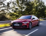 2020 Audi A7 Sportback 55 TFSI e quattro Plug-In Hybrid (Color: Tango Red) Front Three-Quarter Wallpapers 150x120 (14)