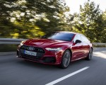 2020 Audi A7 Sportback 55 TFSI e quattro Plug-In Hybrid (Color: Tango Red) Front Three-Quarter Wallpapers 150x120 (16)