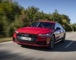 2020 Audi A7 Sportback 55 TFSI e quattro Plug-In Hybrid (Color: Tango Red) Front Three-Quarter Wallpapers 150x120 (5)