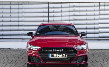 2020 Audi A7 Sportback 55 TFSI e quattro Plug-In Hybrid (Color: Tango Red) Front Wallpapers 450x275 (29)
