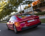 2020 Audi A7 Sportback 55 TFSI e quattro Plug-In Hybrid (Color: Tango Red) Rear Three-Quarter Wallpapers 150x120 (19)