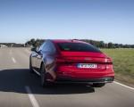 2020 Audi A7 Sportback 55 TFSI e quattro Plug-In Hybrid (Color: Tango Red) Rear Three-Quarter Wallpapers 150x120 (6)