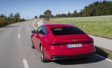 2020 Audi A7 Sportback 55 TFSI e quattro Plug-In Hybrid (Color: Tango Red) Rear Wallpapers 450x275 (8)