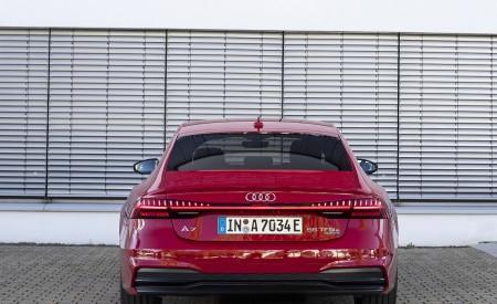 2020 Audi A7 Sportback 55 TFSI e quattro Plug-In Hybrid (Color: Tango Red) Rear Wallpapers 450x275 (35)