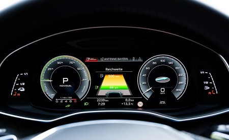 2020 Audi A7 Sportback 55 TFSI e quattro Plug-In Hybrid Digital Instrument Cluster Wallpapers 450x275 (55)