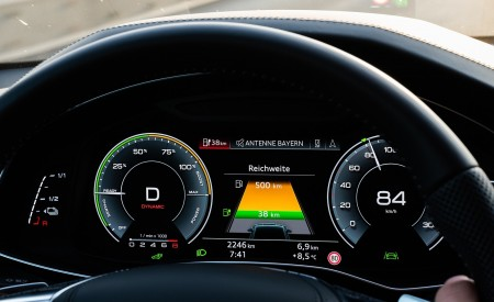 2020 Audi A7 Sportback 55 TFSI e quattro Plug-In Hybrid Digital Instrument Cluster Wallpapers 450x275 (53)