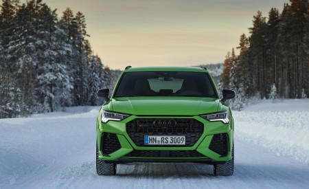 2020 Audi RS Q3 (Color: Kyalami Green) Front Wallpapers 450x275 (33)