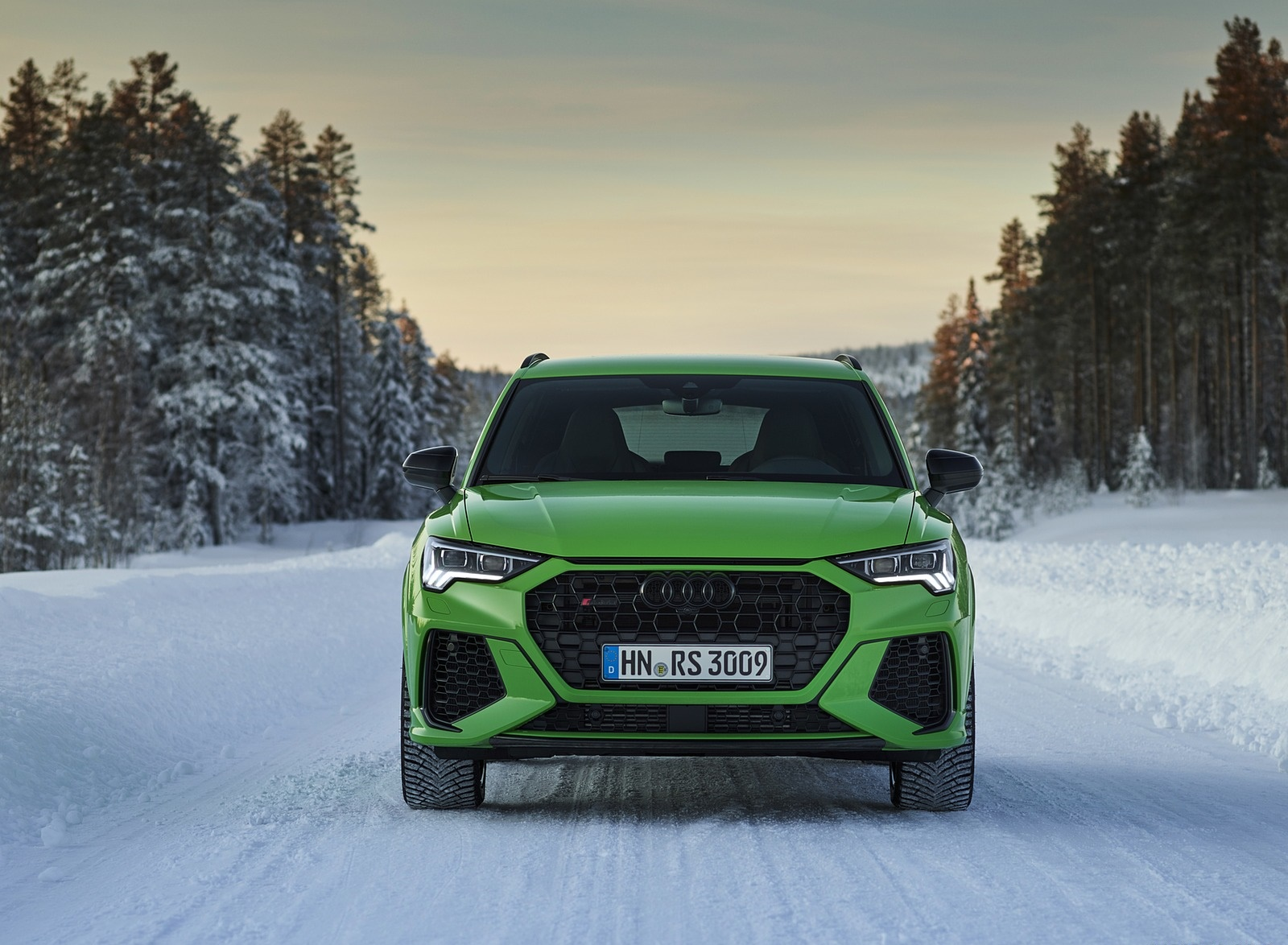2020 Audi RS Q3 (Color: Kyalami Green) Front Wallpapers #33 of 116