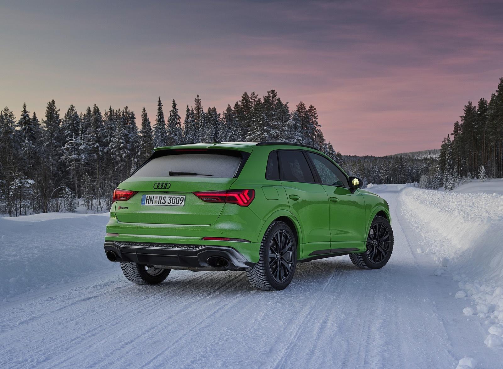 2020 Audi RS Q3 (Color: Kyalami Green) Rear Three-Quarter Wallpapers #34 of 116