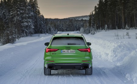 2020 Audi RS Q3 (Color: Kyalami Green) Rear Wallpapers 450x275 (35)
