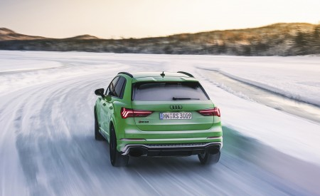 2020 Audi RS Q3 (Color: Kyalami Green) Rear Wallpapers 450x275 (31)