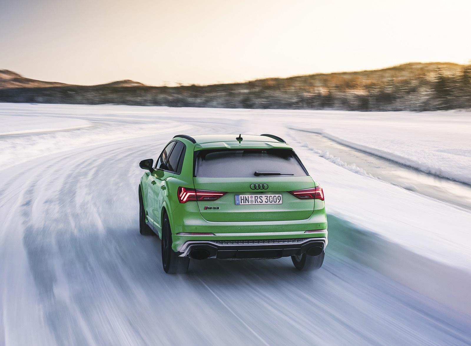 2020 Audi RS Q3 (Color: Kyalami Green) Rear Wallpapers #31 of 116