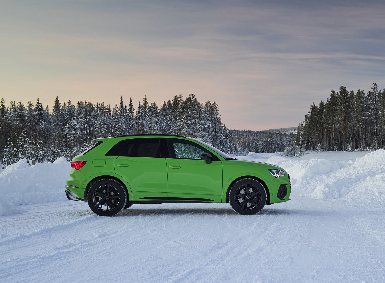 2020 Audi RS Q3 (Color: Kyalami Green) Side Wallpapers #36 of 116