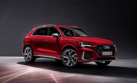 2020 Audi RS Q3 (Color: Tango Red) Front Three-Quarter Wallpapers 450x275 (68)
