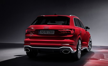 2020 Audi RS Q3 (Color: Tango Red) Rear Wallpapers 450x275 (75)