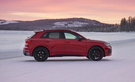 2020 Audi RS Q3 (Color: Tango Red) Side Wallpapers 450x275 (17)